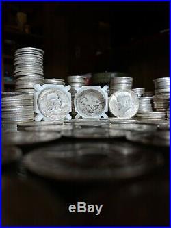 $100 FV 90% Silver Half Dollar Coins Kennedy Franklin & Liberty Coins