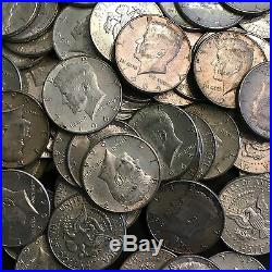 $10 Face Value 1964 KENNEDY HALF DOLLARS 90% SILVER (20 COINS) Circulated
