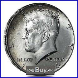 $10 Face Value Kennedy Half Dollars 40% Silver 20-Coin Roll (Avg Circ)