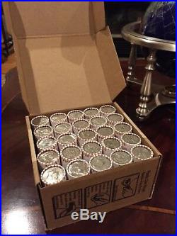 10 Unsearched Bank Sealed Half Dollar Rolls Possible Silver Kennedy Franklin