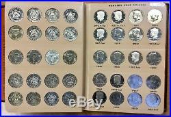 1964 -2016 Kennedy Half dollar set w SILVER Proofs 168 coins in Dansco album