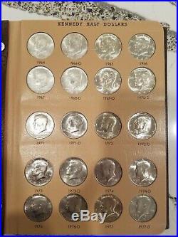 1964-2017 Kennedy Half Dollar Complete Set (100) Dansco Album CHOICE COINS