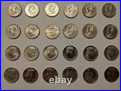 1964 2020 Kennedy Half Dollar Set 55 Year Collection
