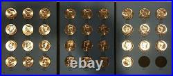 1964-2021 P&D UNCIRCULATED KENNEDY HALF DOLLAR SET (107 Coins) In New Folders