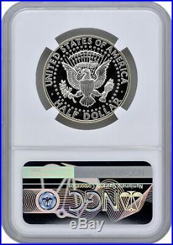1964 50C Silver Proof Kennedy Half Dollar NGC PF 69 Cameo
