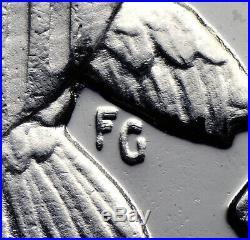 1964 Accented Hair Kennedy Quadrupled Die Reverse QDR FS-802 PCGS PR 67