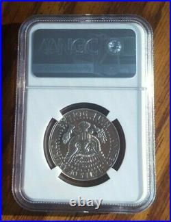 1964 Accented Hair Silver Kennedy Half Dollar, NGC Pr 67, Blast White No Spots