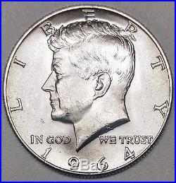 1964 D 50C QDO FS-105 PCGS MS64 Kennedy Silver Half Dollar Major Variety Coin