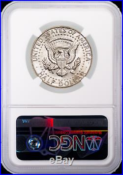 1964-D Kennedy Half Dollar BRILLIANT UNCIRCULATED NGC FIRST DAY OF ISSUE