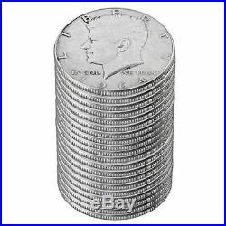 1964-D Kennedy Half Dollar Roll Brilliant Uncirculated BU (20 Coins)