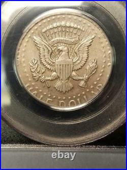 1964 D Kennedy Half Dollar Struck on Silver 25 Cent Planchet Extremely Rare Mint