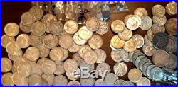 1964 JFk 50c Silver Half Dollar 20 US Coin Roll Only 90% JFK minted Last Year