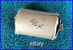 1964 Kennedy 1/2 dollar Roll 20 coins 90% Silver BU