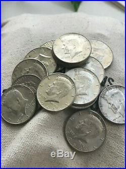 1964 Kennedy Half Dollar 90% SILVER US Mint Coin Average Circulation Lots