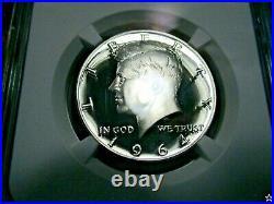 1964 Kennedy Half Dollar Pr 69 Cameo Pop 51 Deep White Prem Cameos Looks Pf70