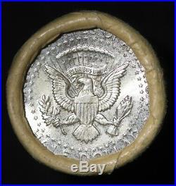 1964 Kennedy Half Dollar Roll OBW