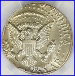 1964 Kennedy Half Dollar Struck on 25c Quarter Planchet 50c PCGS MS63 Error