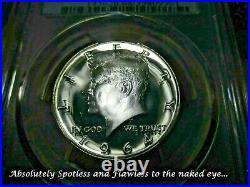 1964 Kennedy Half Dollar (ultra Rare Pop 1) Pr68 Cam Accented Hair Straight G