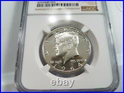 1964 Kennedy Silver Half Dollar NGC PF 68 Star Deep Mirror Proof Like PR DMPL PL