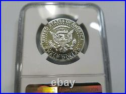 1964 Kennedy Silver Half Dollar NGC PF 68 Type 1 Straight G Proof PR DMPL DPL