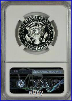 1964 NGC PR67 CAM Accented Accent Hair Kennedy Half Dollar CAMEO