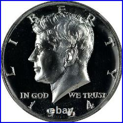 1964 NGC PR68 PF68 Cameo Accented Accent Hair Kennedy Half Dollar -Blast White