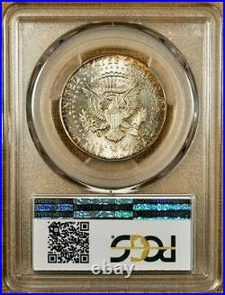 1964 PCGS MS66+ Kennedy Half Dollar Wicked Obverse Color WOW