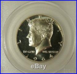 1964 PCGS PR-69-CAM Kennedy half dollar SILVER proof GEM Blast White