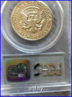 1964 P Accented Hair Silver Kennedy Half Dollar PCGS PF 68 DCAM
