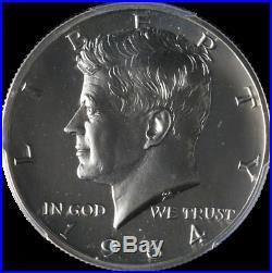1964-P Kennedy Half Dollar PCGS PR67CAM Proof Accented Hair Blast White Stock