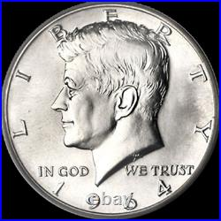 1964-P Kennedy Half Dollar P/D Roll Nice BU