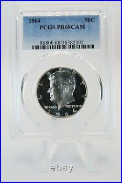 1964-P PCGS PR68CAM Kennedy Half Dollar Silver Proof 50C