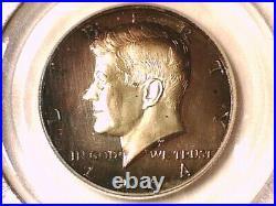 1964 P Proof Kennedy Half Dollar PCGS PR 67 DCAM 15804805 Toned