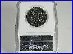 1964 P Silver Kennedy Half Dollar, Accented Hair NGC Pf 67