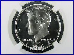 1964 P Silver Kennedy Half Dollar NGC Pf 69 Cameo, Pop. =654 Sailing Portrait