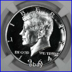 1964 Proof Kennedy Half Dollar 50c Accent Hair Ngc Certified Pf 69 (009)