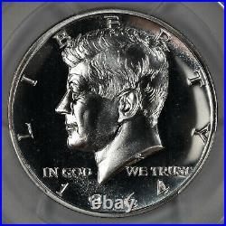 1964 Proof Kennedy Half Dollar 50c Accent Hair Pcgs Certified Pr 67 (387)