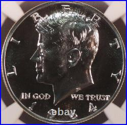 1964 Proof Kennedy Half Dollar, ACCENTED HAIR, NGC PF68, beauty