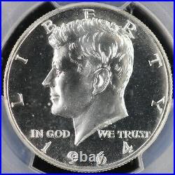 1964 Proof Kennedy Silver Half Dollar 50C PCGS PR 68 Accented Hair