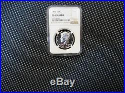 1964 Silver Kennedy Half Dollar NGC PF 69 Cameo Freshly Graded