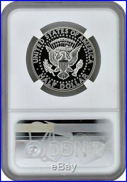 1964 Type 1 Straight G 50c Silver Proof Kennedy Half Dollar NGC PF 67 Cameo