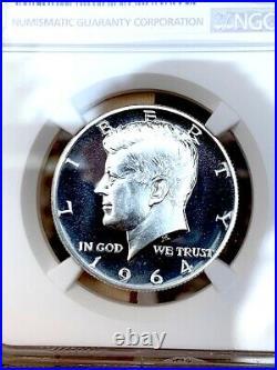 1964 Type 1 Straight G Kennedy Half NGC PF 68 Cameo Rare Variety this nice