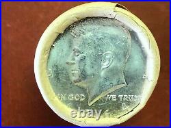 1964-p 50c Kennedy 90% Silver Half Dollar Gem Bu Shotgun Roll (20)