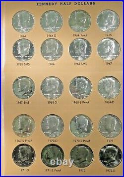 1964 thru 2012-P-D&S Proofs Kennedy Half Dollar Set of 160 Coins. All BU