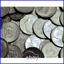1965-1969 Kennedy Halves $10 40% Silver 20 Coin Roll Avg. Circ
