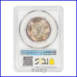 1965 50C Kennedy Half Dollar Type 2 Silver Clad PCGS MS67+