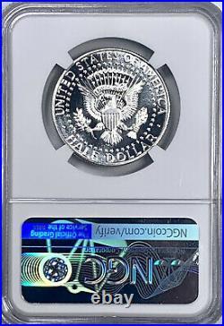 1965 SMS Kennedy Half Dollar MS 67+ NGC Certified Silver Cameo Rare Grade Pop 1