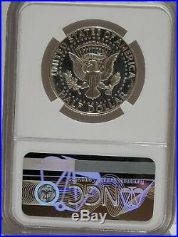 1965 SMS Kennedy Half Dollar, NGC MS66 Ultra Cameo