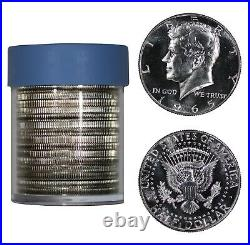 1965 Sms Kennedy Half Dollar Gem Bu Brilliant Unc Full Roll 20 Coins