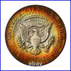 1966 50C Kennedy Half Dollar Type 2 Silver Clad PCGS MS67+ #3148-10 MONSTER